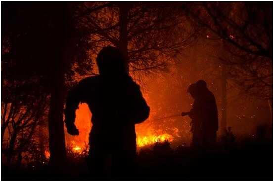 法国森林大火影响铁路运输 4000名乘客夜间被困