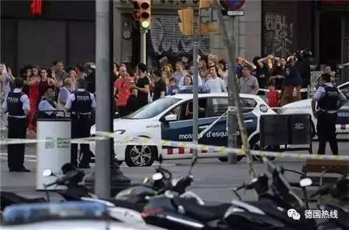 巴塞罗那恐袭疑有三名德国遇难者 尚未得到证实