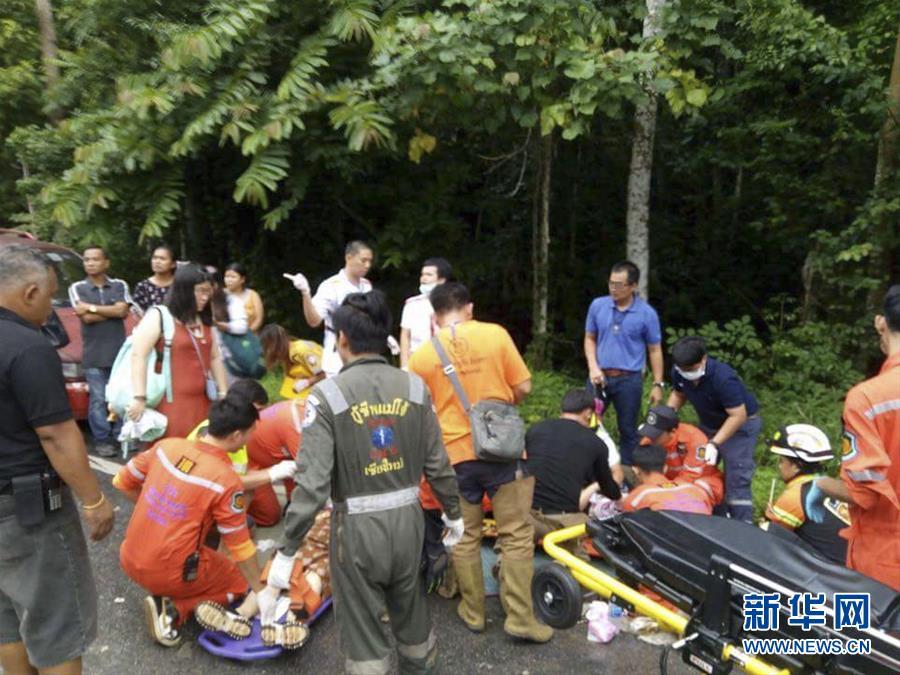 11名中国游客在泰国清迈遇交通事故受伤