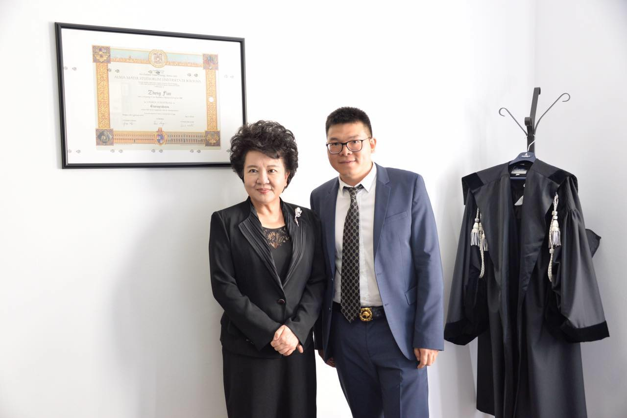 国侨办主任裘援平一行考察米兰之际走访郑帆律师事务所