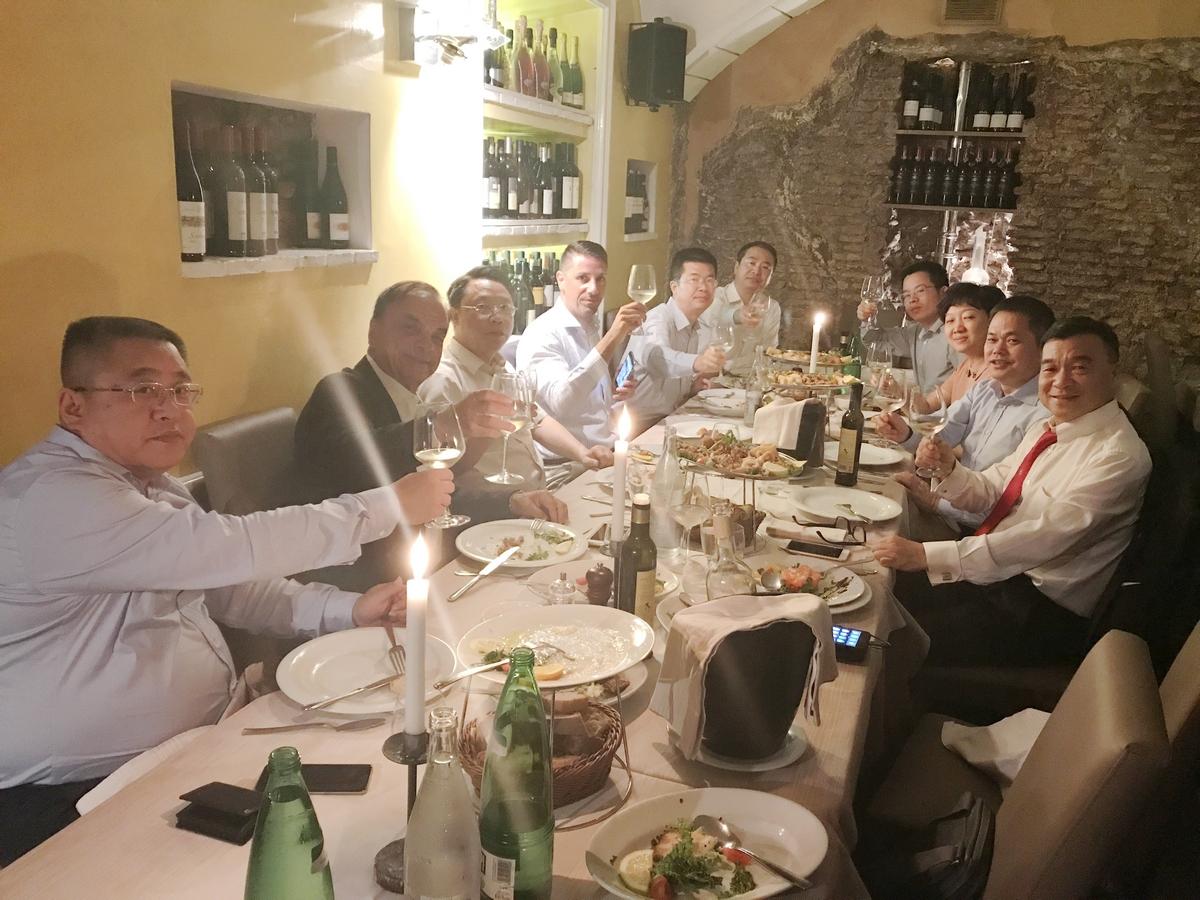 江西赣江新区考察团访问意大利 取得圆满成功